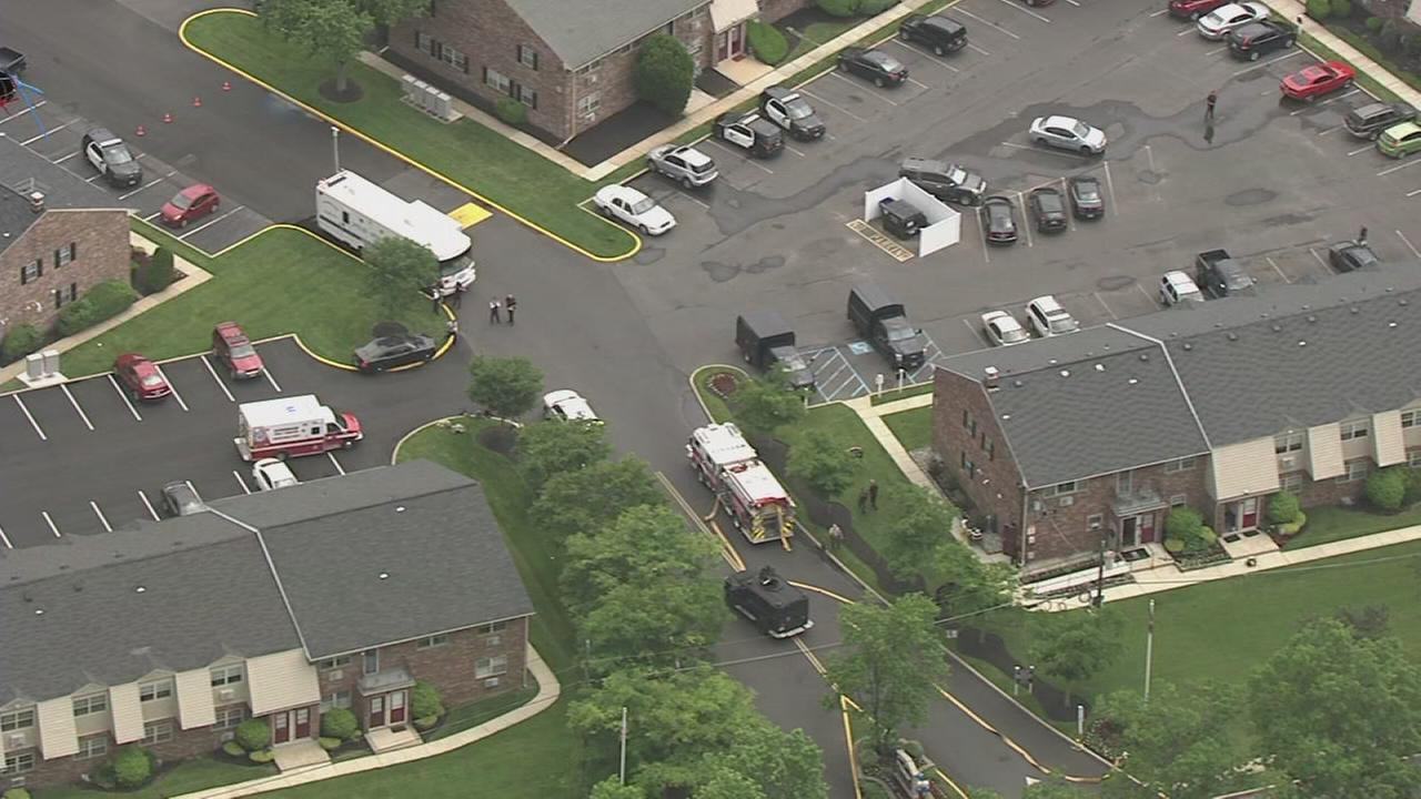 Standoff underway in Evesham Twp.