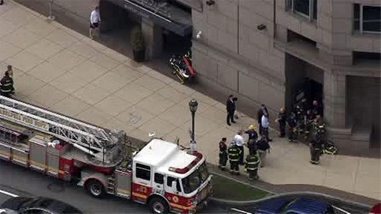 Hotel fire prompts evacuation in Center City Philadelphia