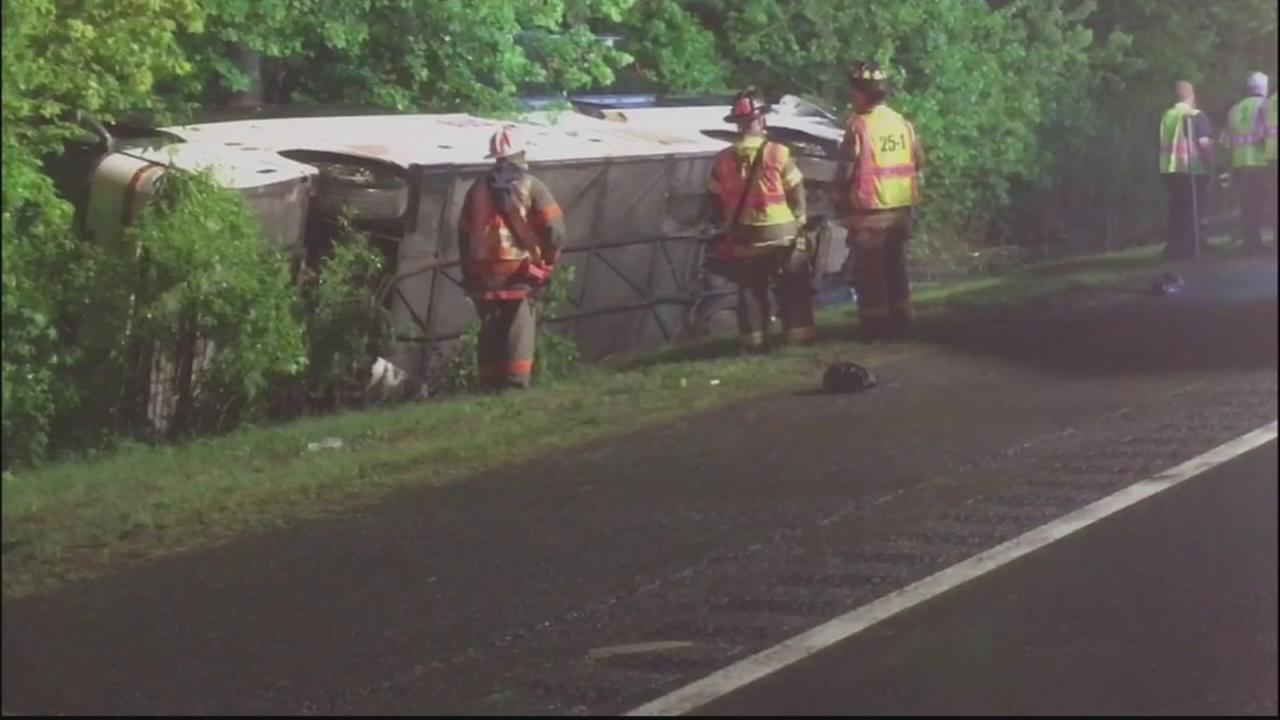 Dozens hurt, some stranded after crash