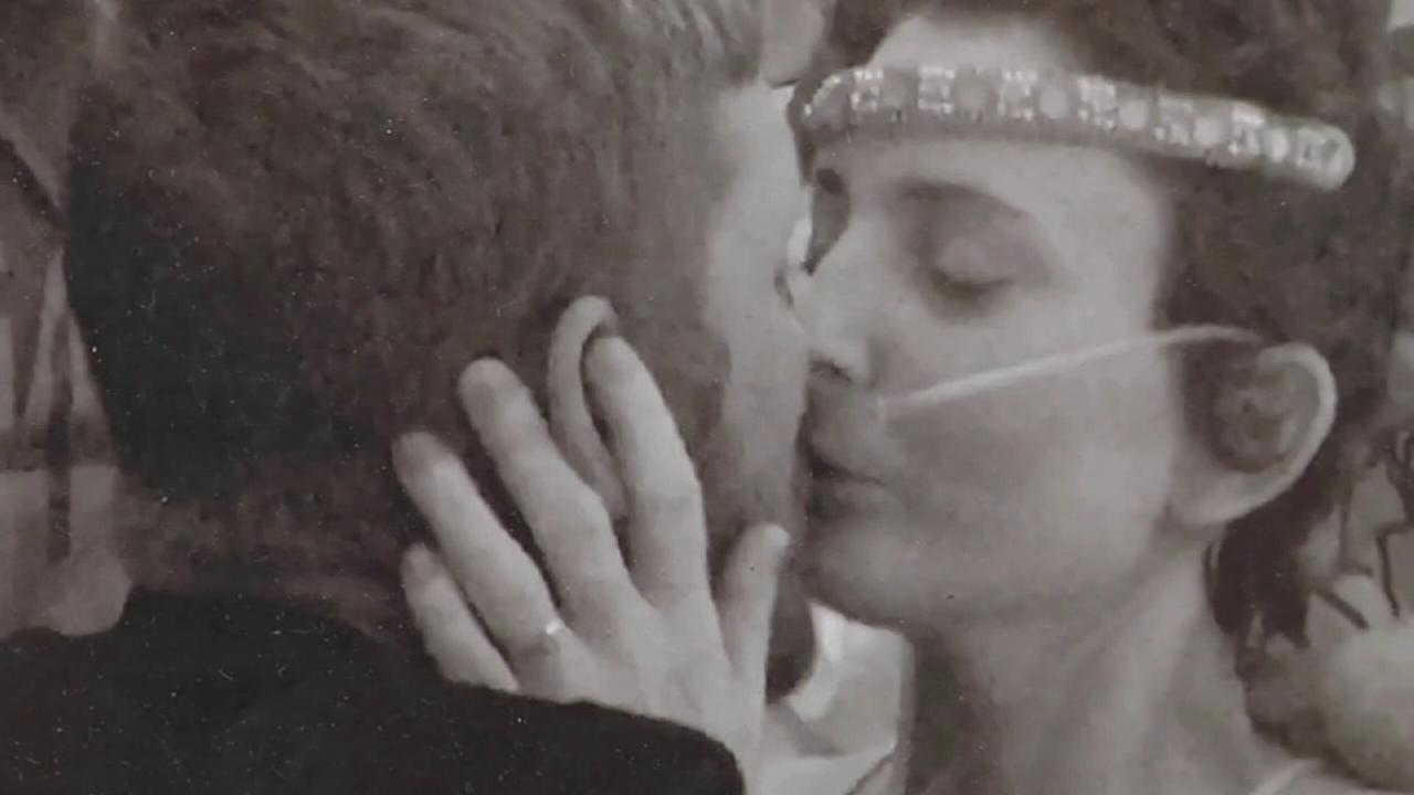 VIDEO: Bride marries high school sweetheart despite cancer diagnosis