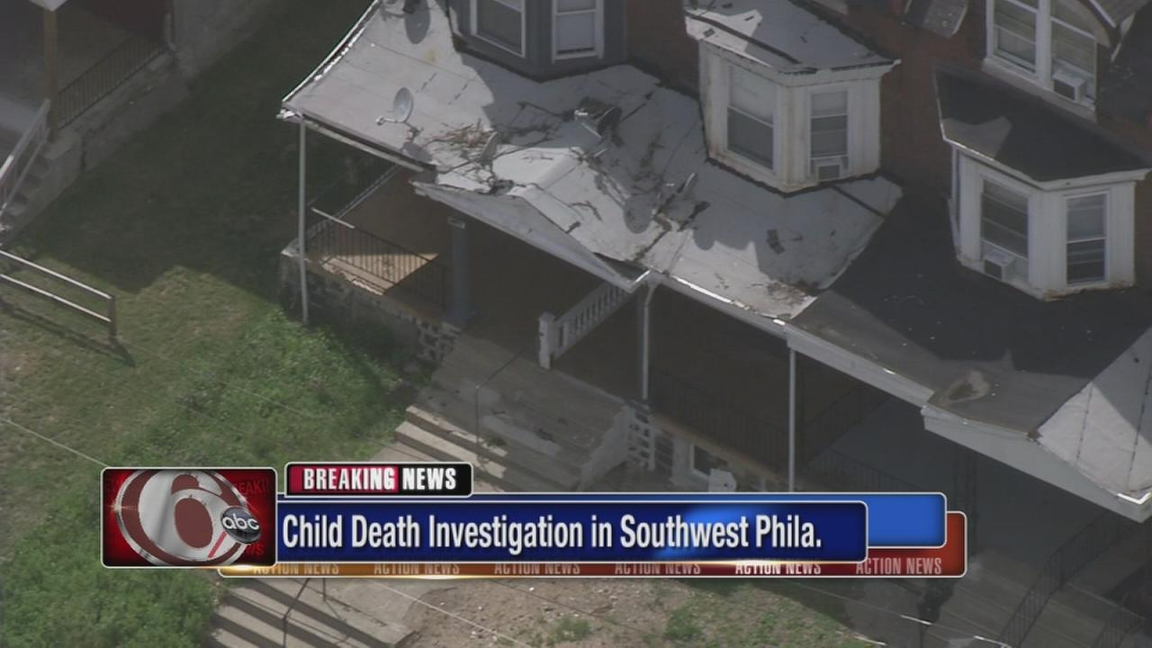 Police investigate childs death in Southwest Philadelphia
