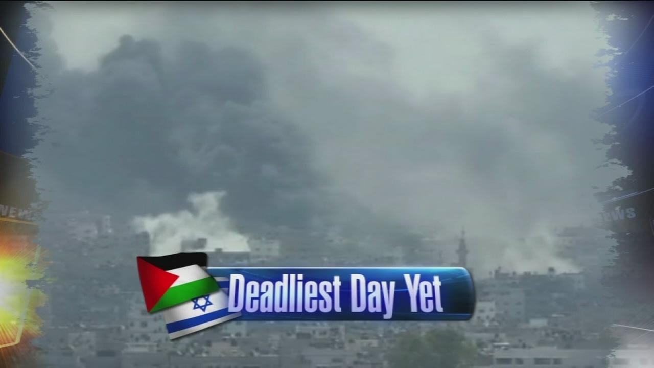 VIDEO: Dozens dead in 1st major ground battle in Gaza