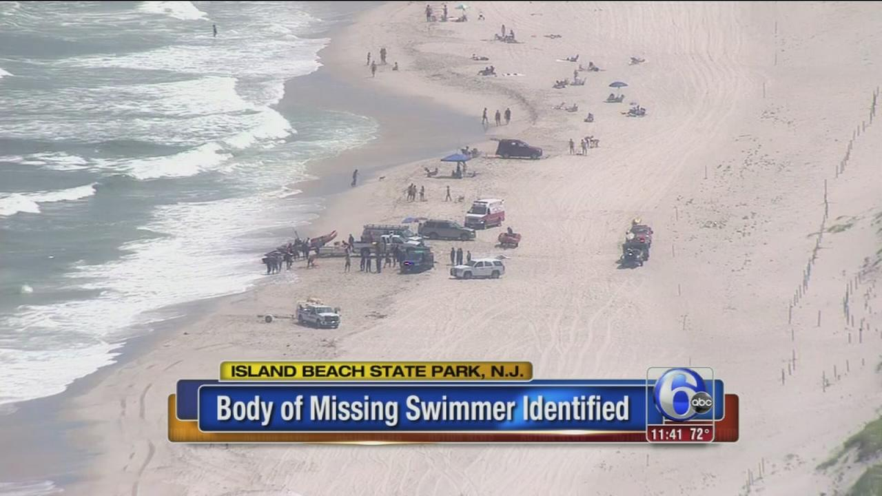 VIDEO: Body found IDd as missing swimmer off NJ coast