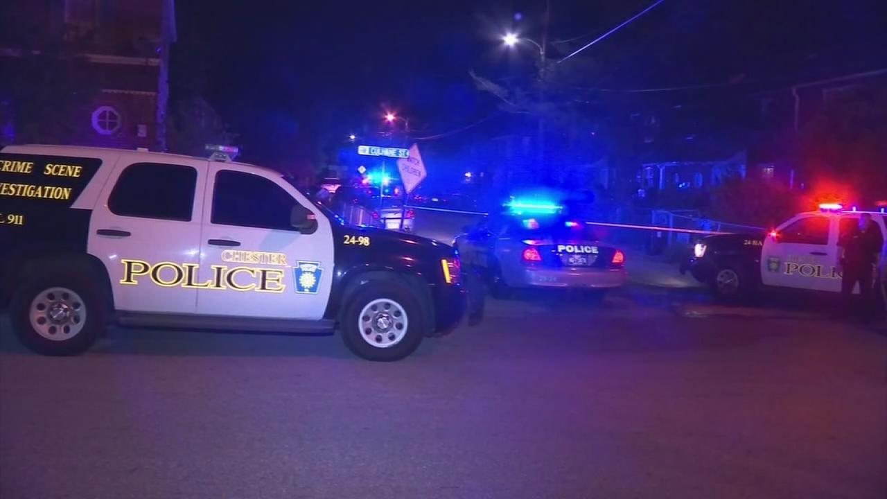 VIDEO: Man shot multiple times in Chester