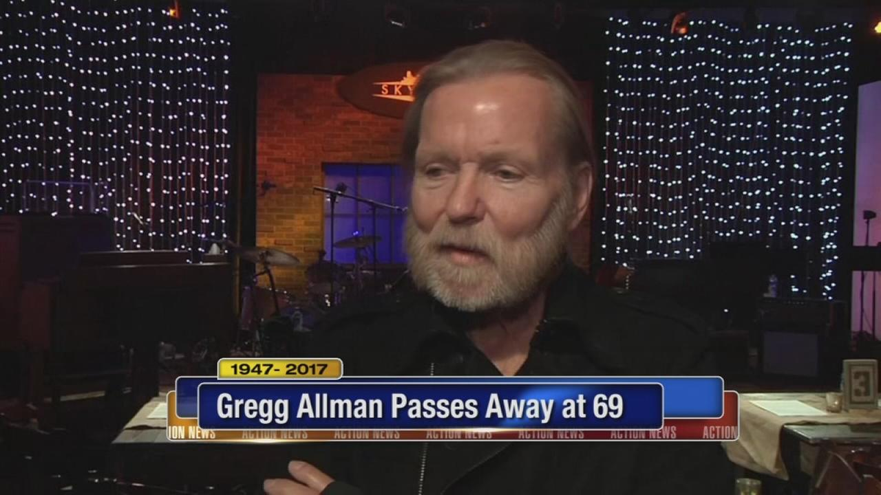 Southern rock founding father Gregg Allman dies