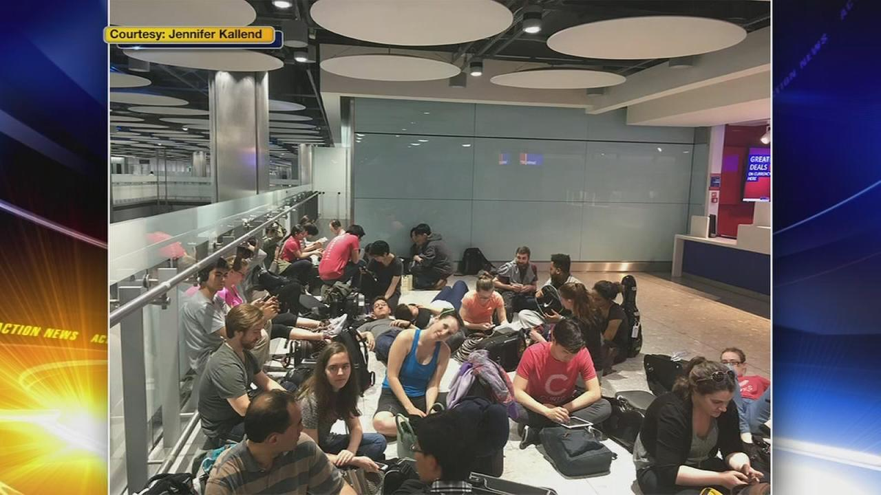 Local students affected by British Airways computer problem