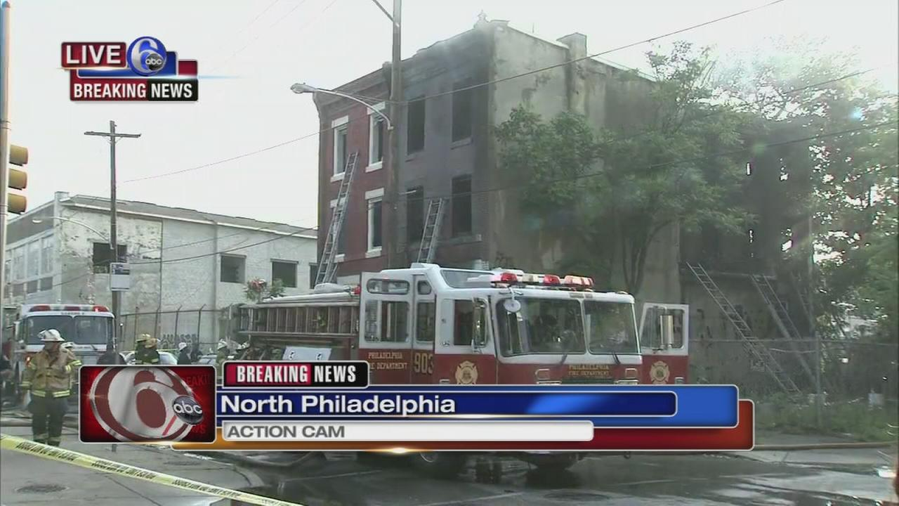 3 dead in North Philadelphia fire