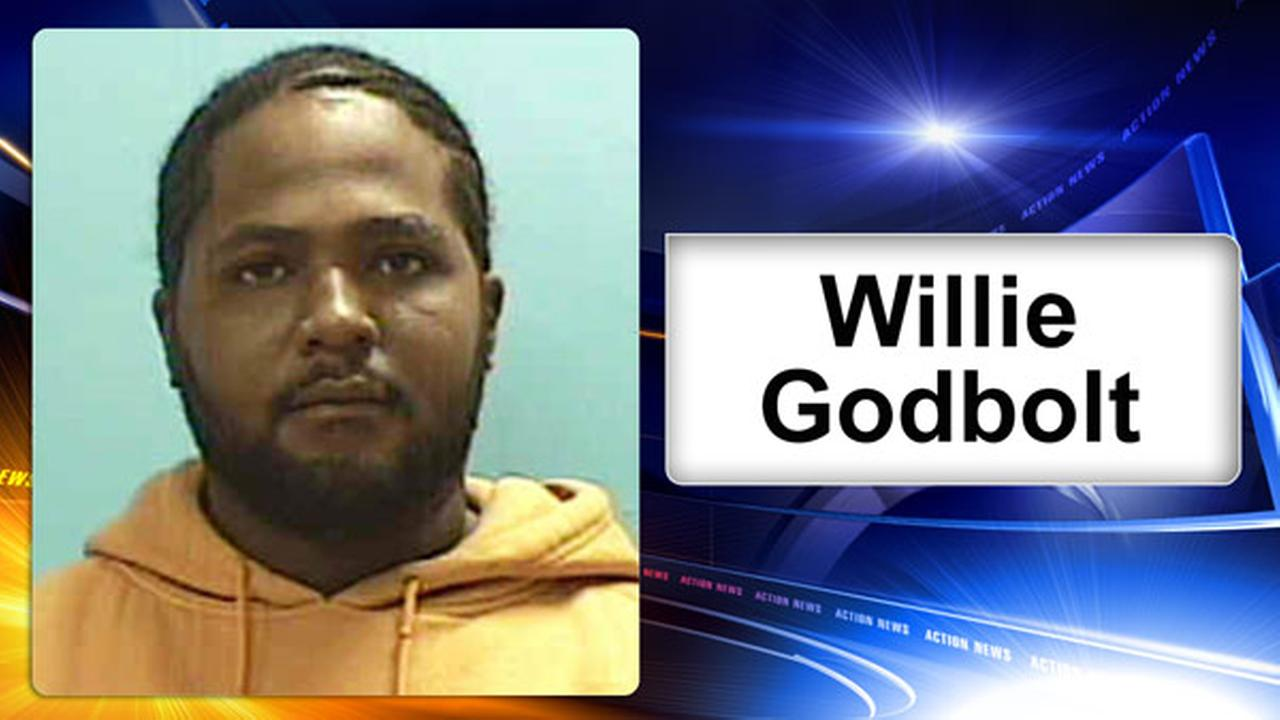 This undated photo provided by the Mississippi Bureau of Investigation shows suspect Willie Corey Godbolt in connection with several fatal shootings Saturday, May 27, 2017.
