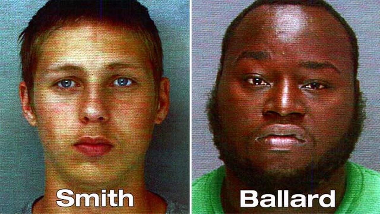 Justin Smith, 19, and Terry Ballard, 26, were arrested for the Thursday morning killings.