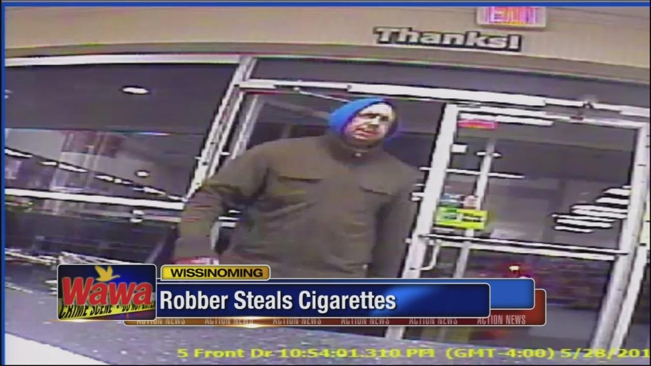 Boxes of cigarettes stolen from Wawa in Wissinoming