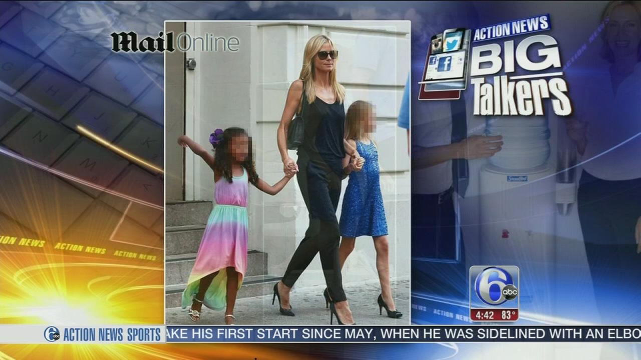 VIDEO: Appropriate heels for Heidi Klums kids?