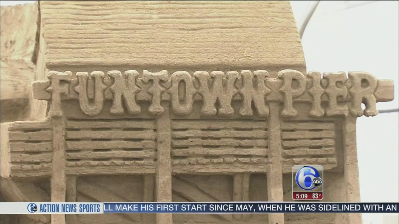 VIDEO: Sand museum opens in Seaside Park