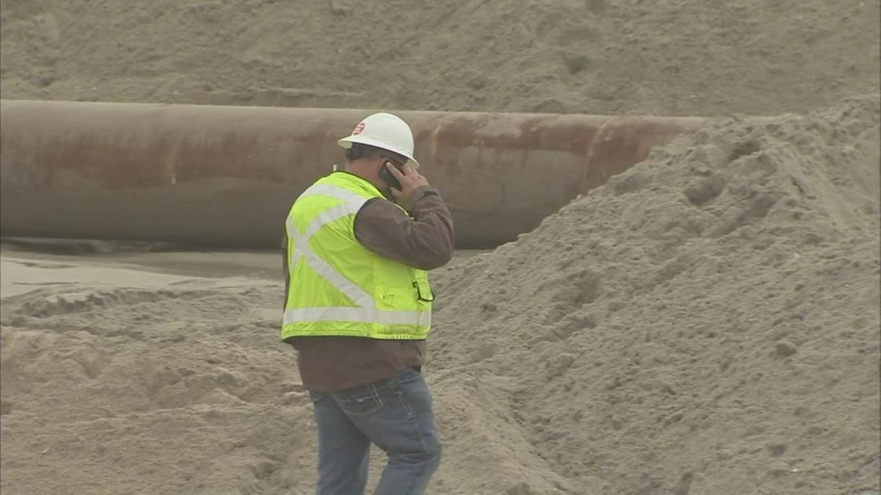 Repairing Superstorm Sandy damage