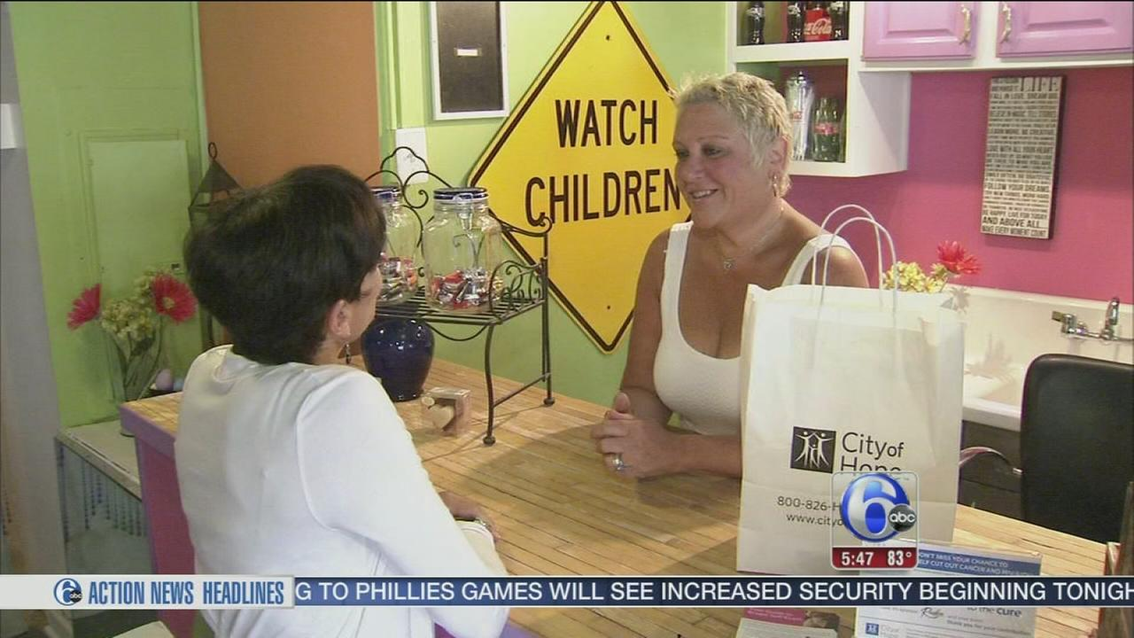 VIDEO: Mt. Airy candy store to help cancer research