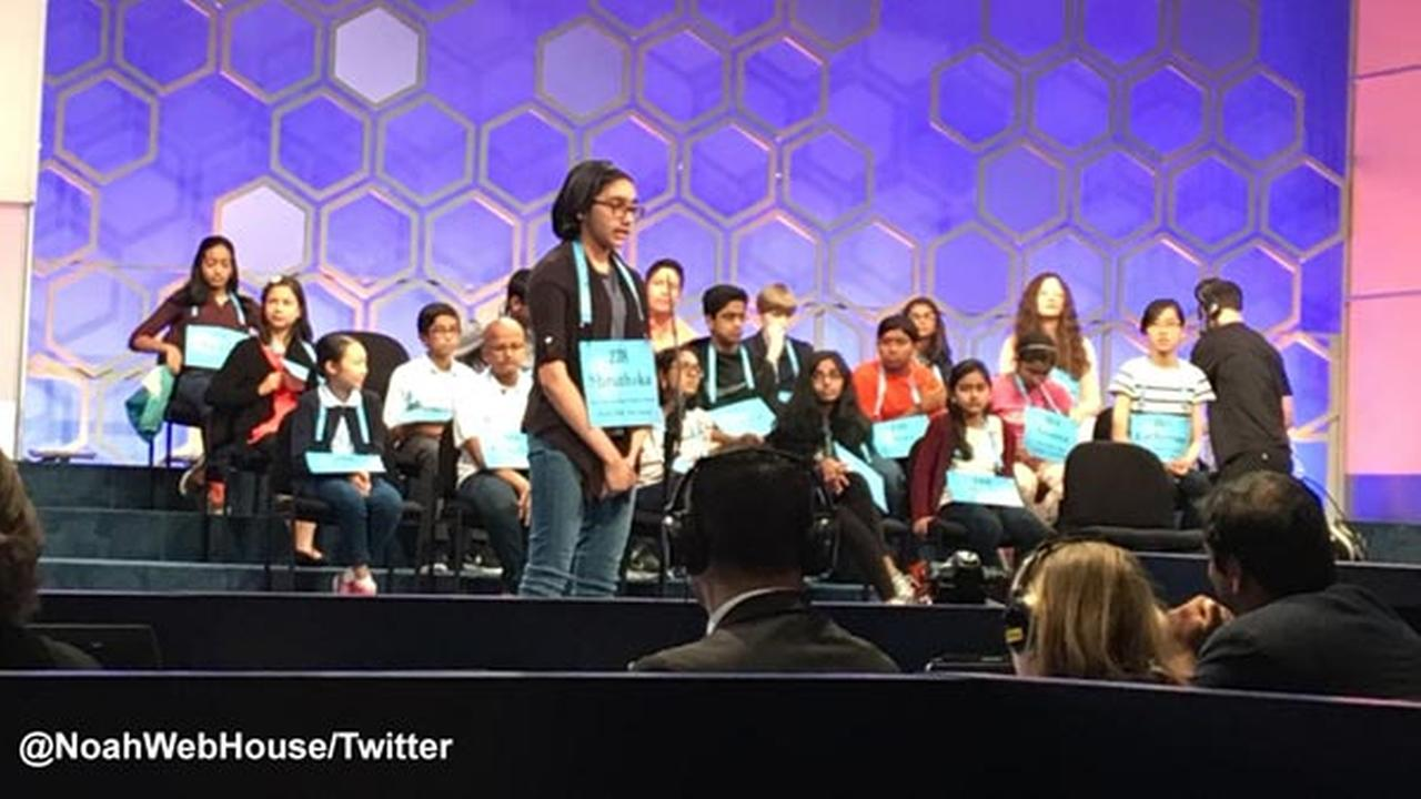 Randolph Middle student qualifies for Scripps spelling bee finals