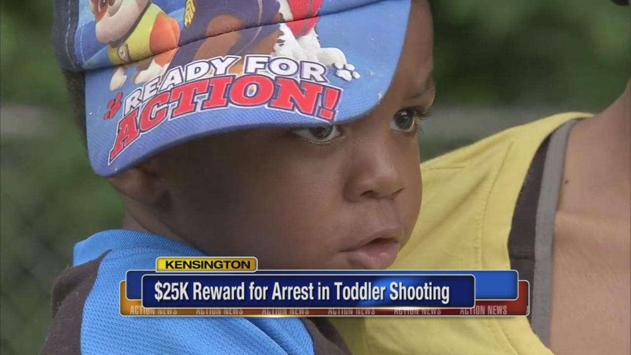 $25K reward for arrest in toddler shooting