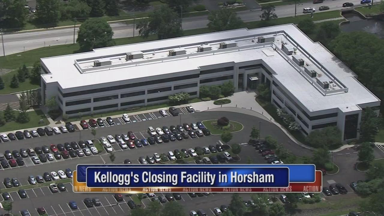 Kellogg?s closing Horsham, Pa. facility