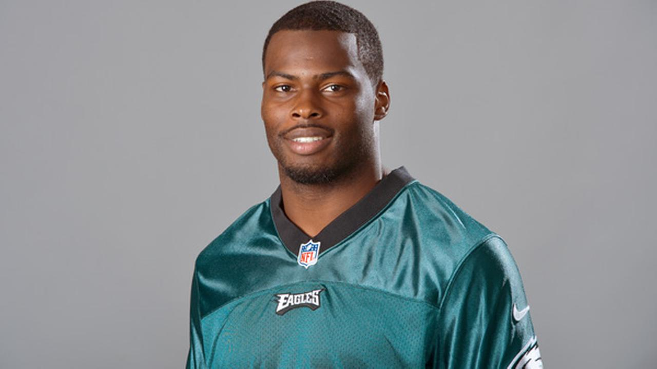 This is a photo of Keelan Johnson of the Philadelphia Eagles NFL football team.  (AP Photo)