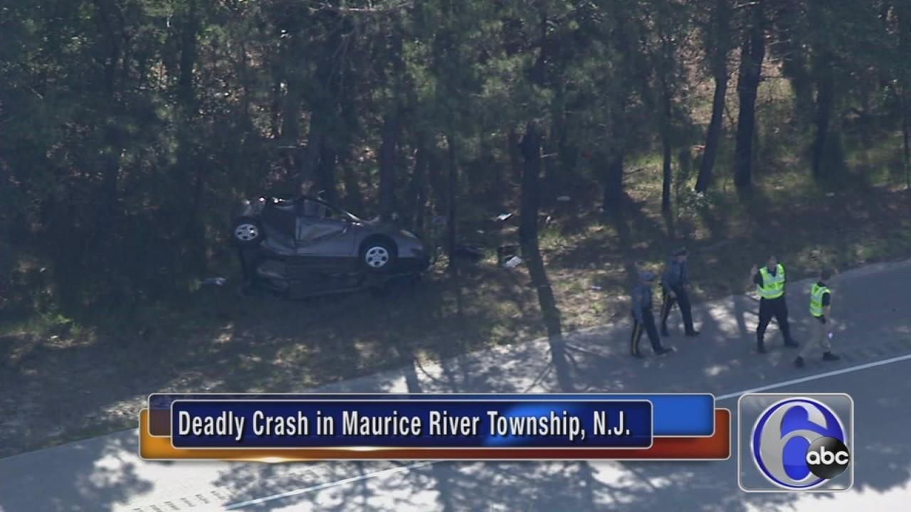 Driver killed on Route 55
