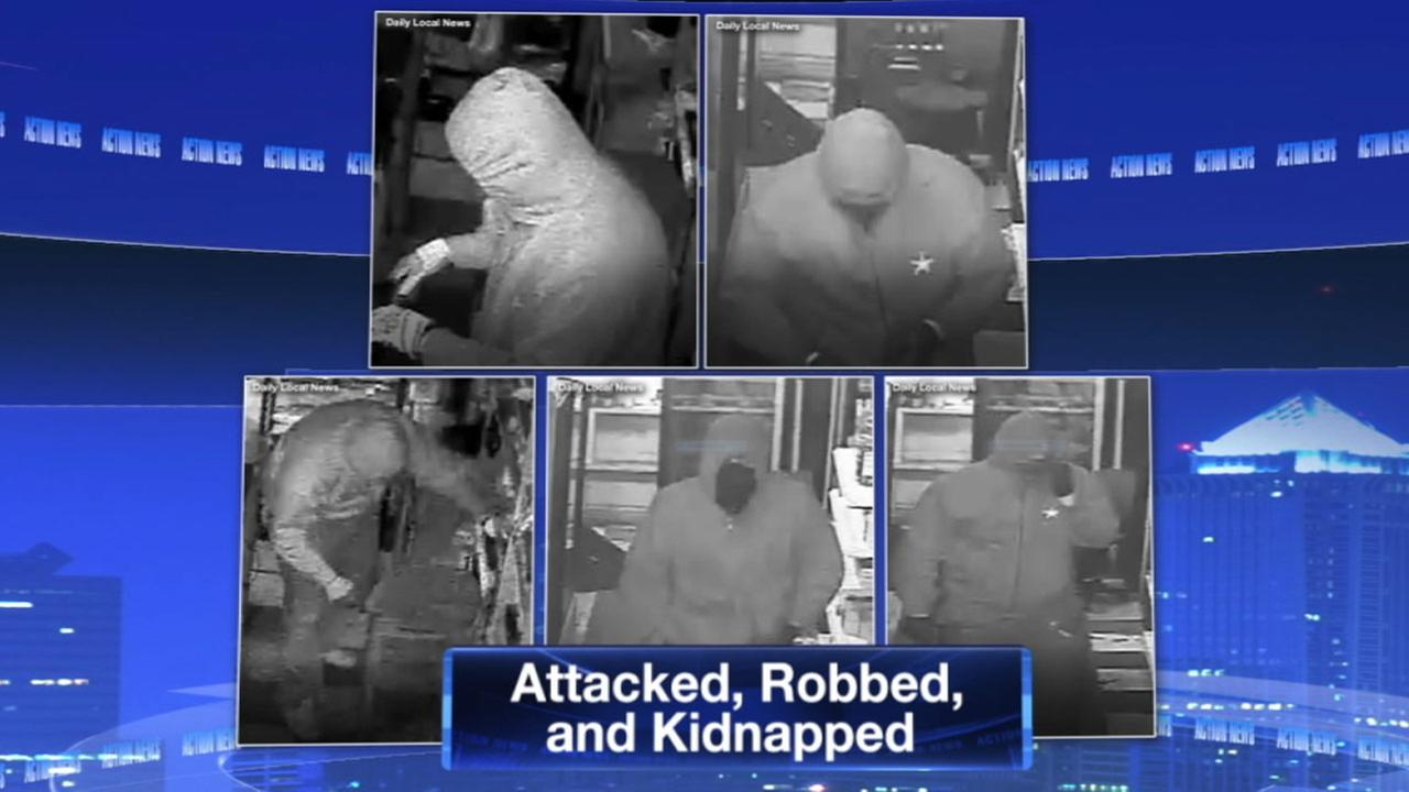 Police: Workers abducted in Chester Co. robbery