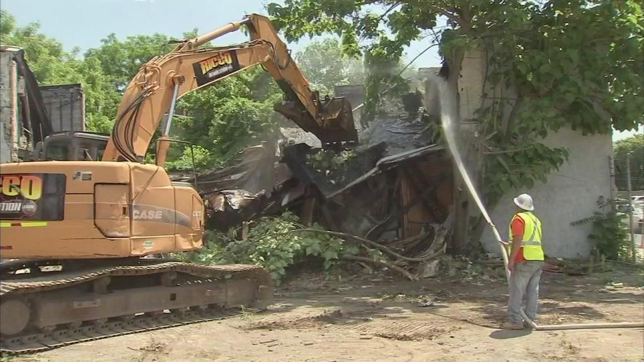 Demolitions begin to rid Camden of vacant eyesores
