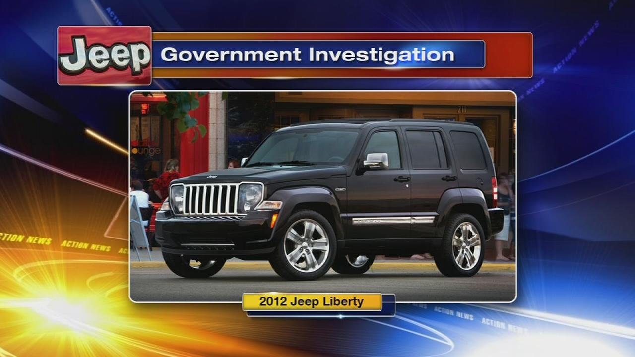 US probes air bag computer failures in 2012 Jeep Liberty