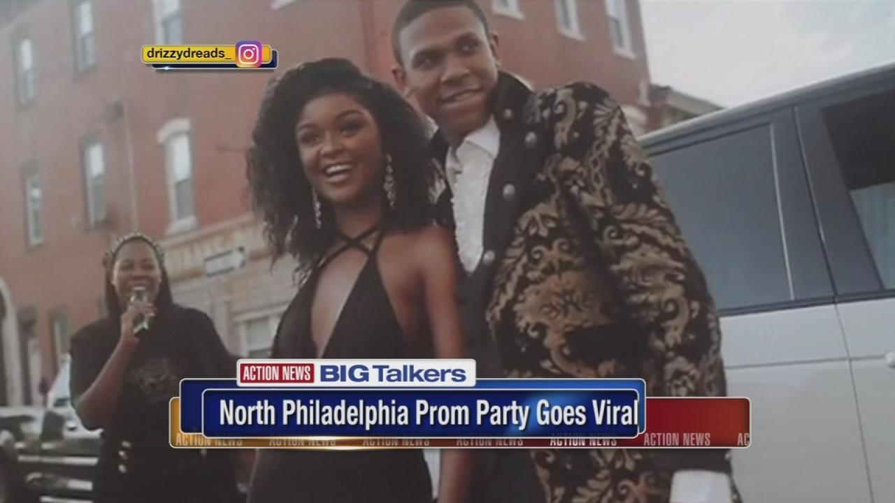 Dubai-themed prom party in North Philadelphia goes viral