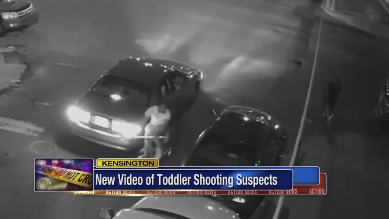 New video of suspects in toddler shooting