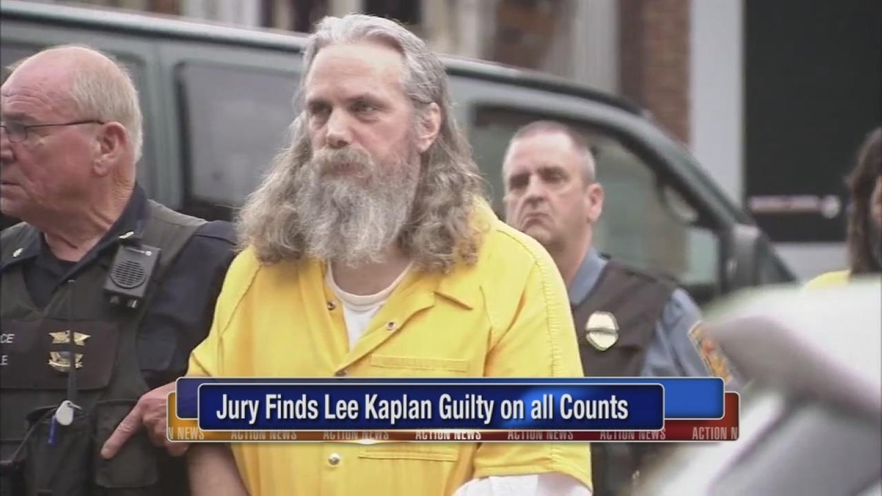 Lee Kaplan guilty on all counts in gifted girl case