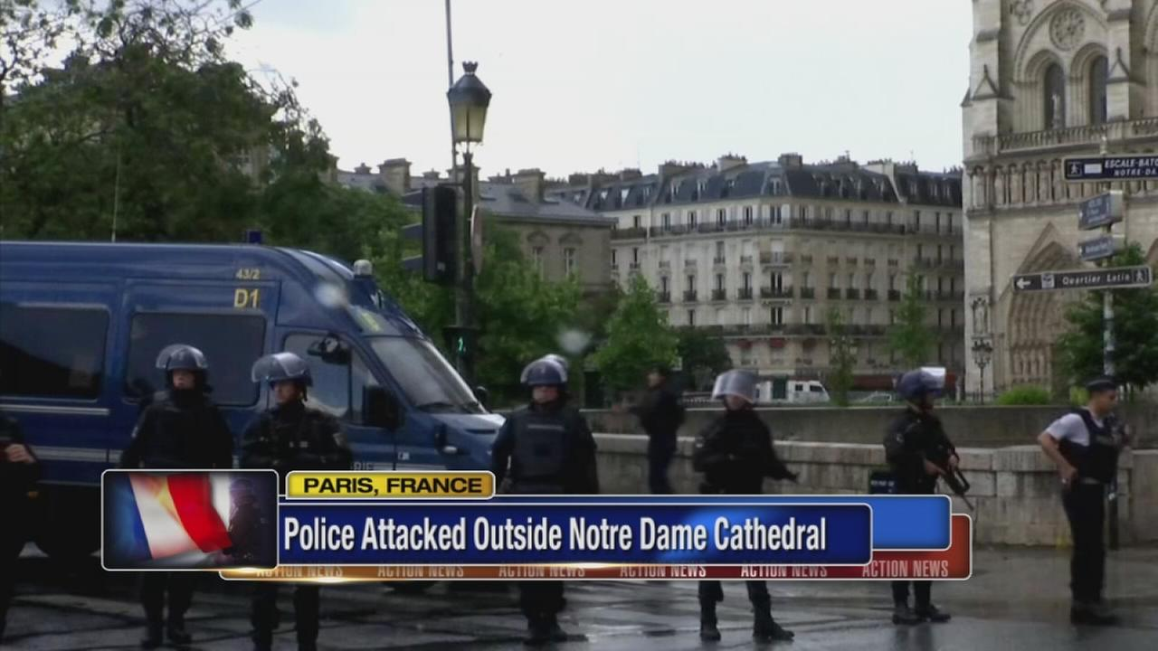 Man attacks Paris police with tool at Notre Dame for Syria