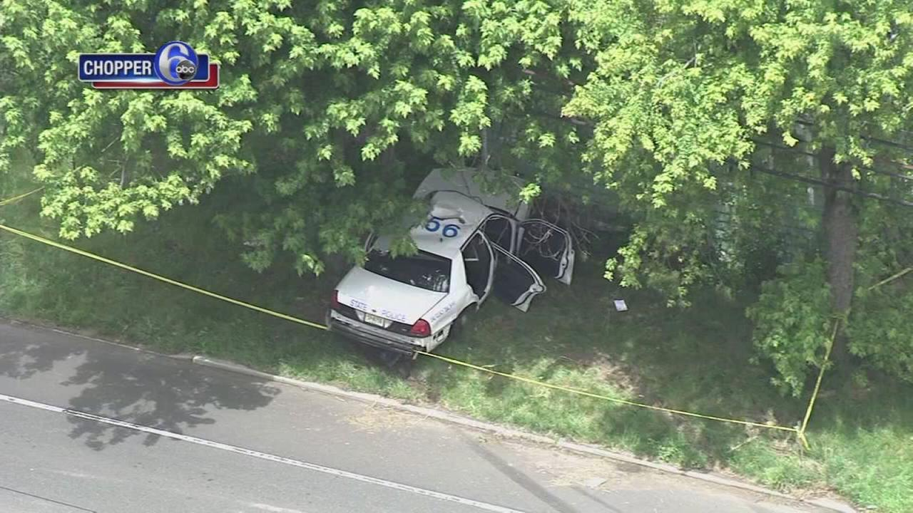 NJ State Police trooper involved in Salem Co. crash