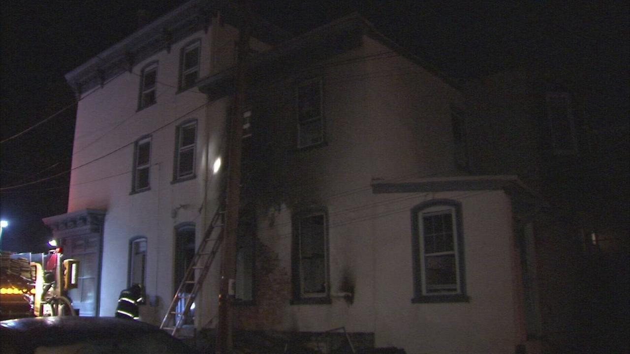 Fire damages home in Manayunk