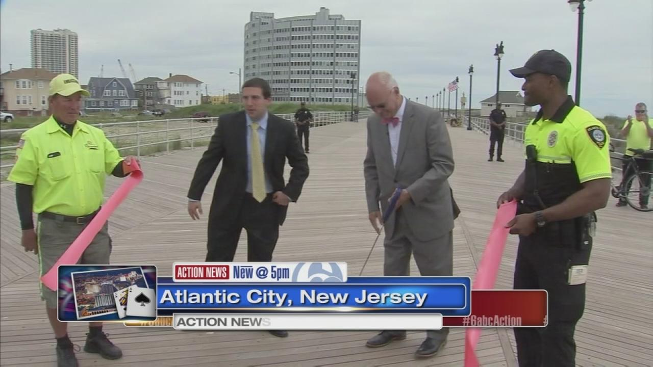 Newly rebuilt section of A.C. boardwalk reopened Thursday