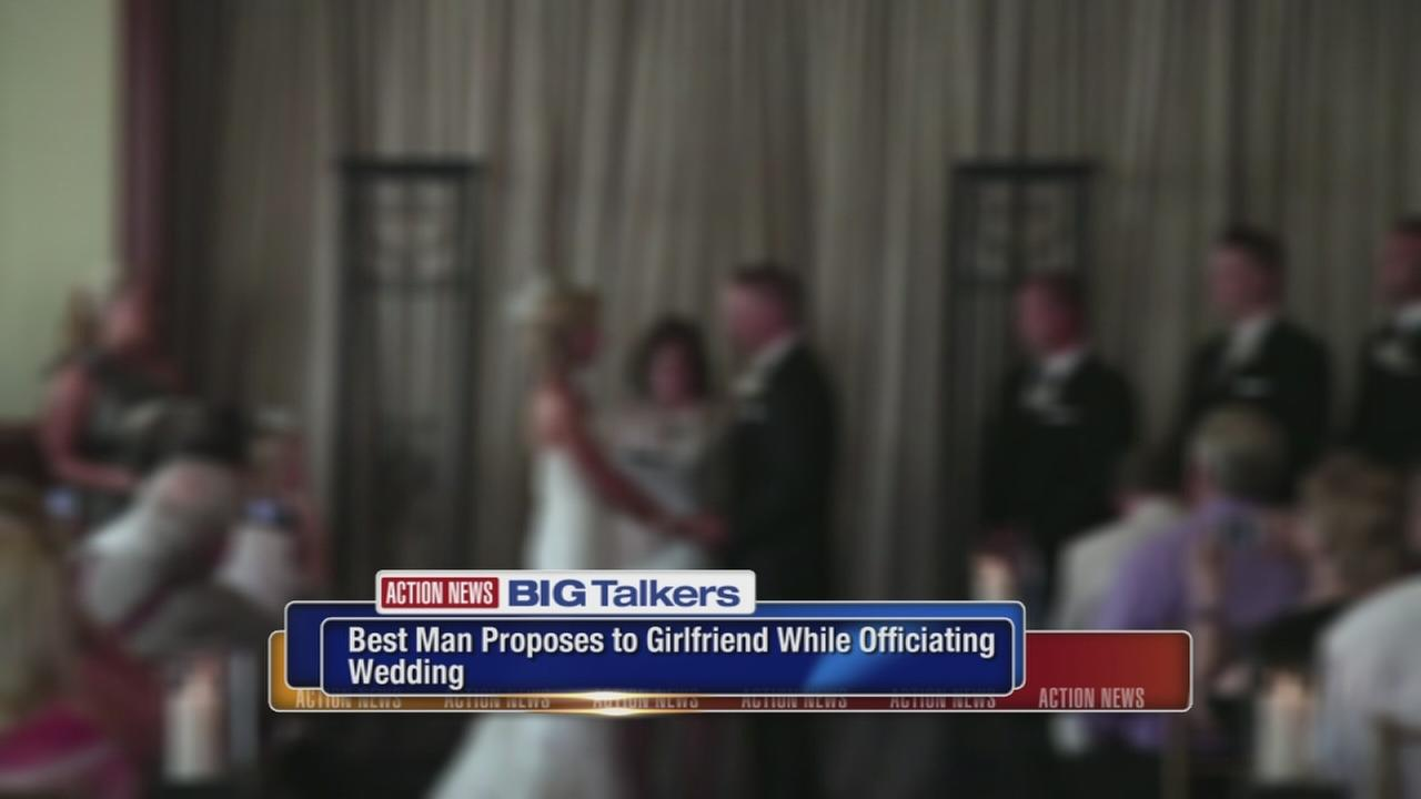 Bride upset after wedding officiant proposes to girlfriend during ceremony
