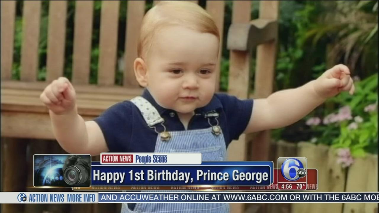 VIDEO: Prince George celebrates his 1st birthday