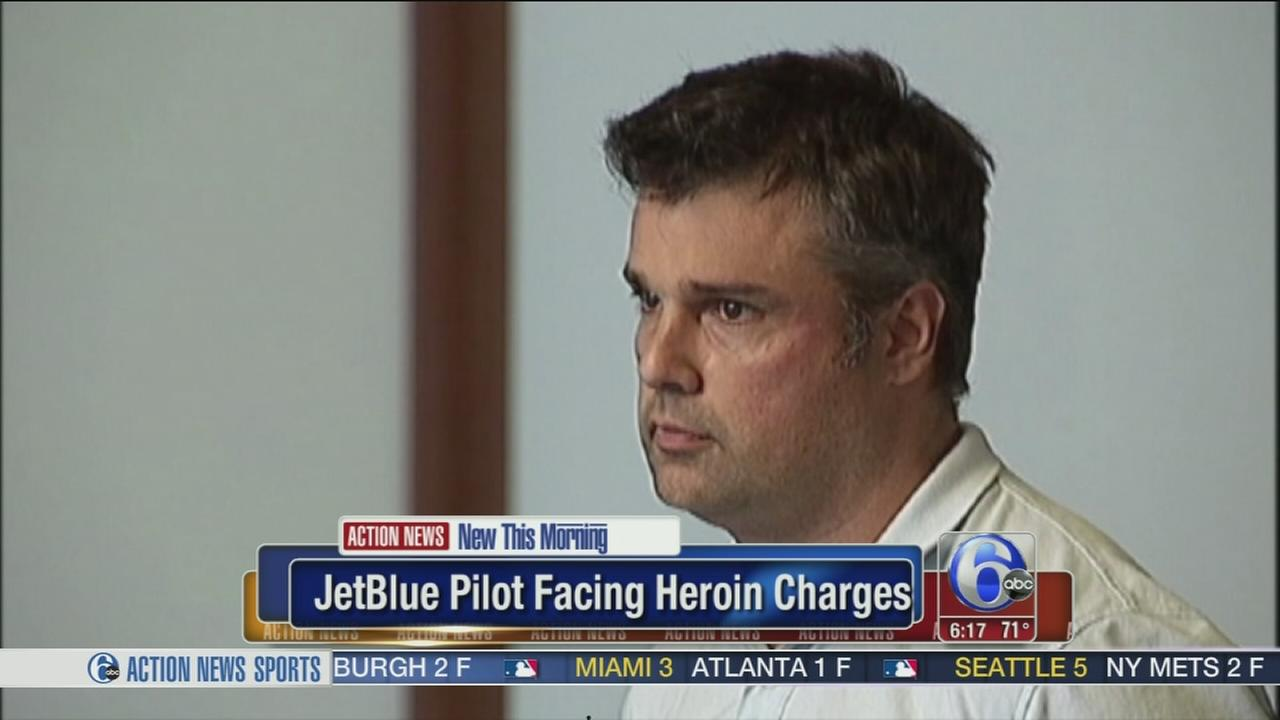 VIDEO: JetBlue pilot facing heroin charges