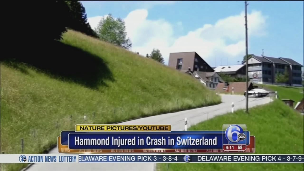The Grand Tour host Richard Hammond injured in car crash