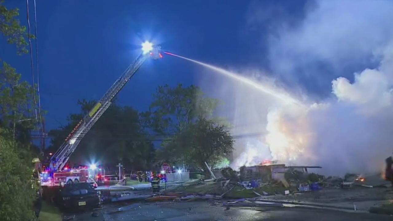 1 person critically injured in New Jersey house explosion