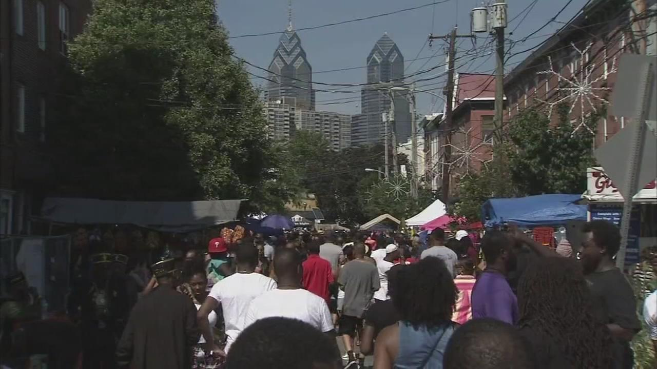 Thousands attend annual Odunde Festival on South Street