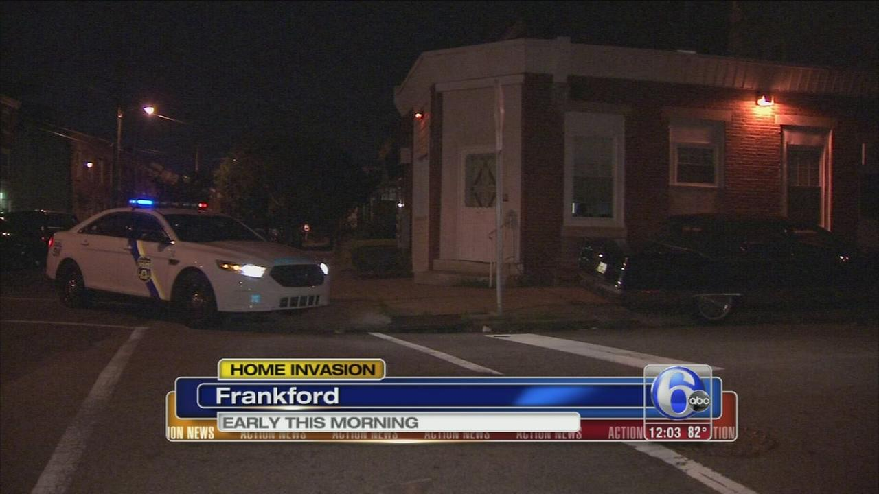 VIDEO: Home invasion, robbery in Frankford