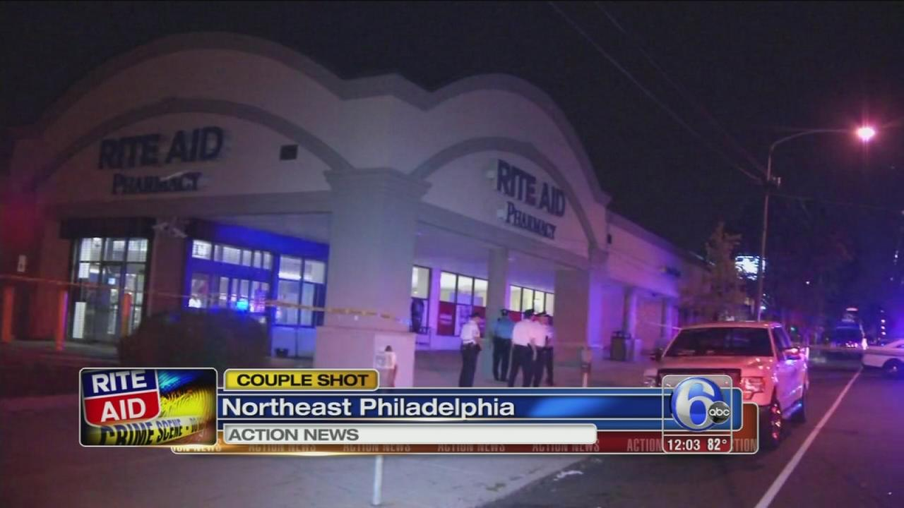 VIDEO: Couple shot outside Rite Aid