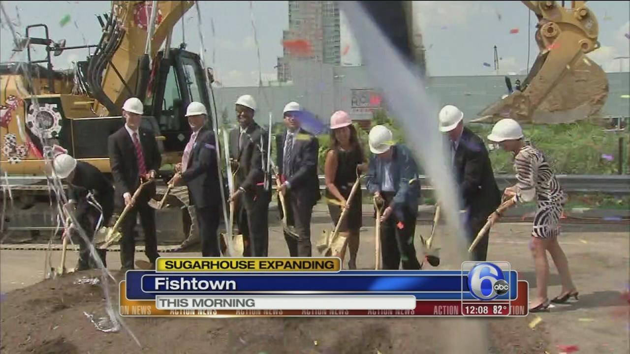 VIDEO: SugarHouse Casino expanding