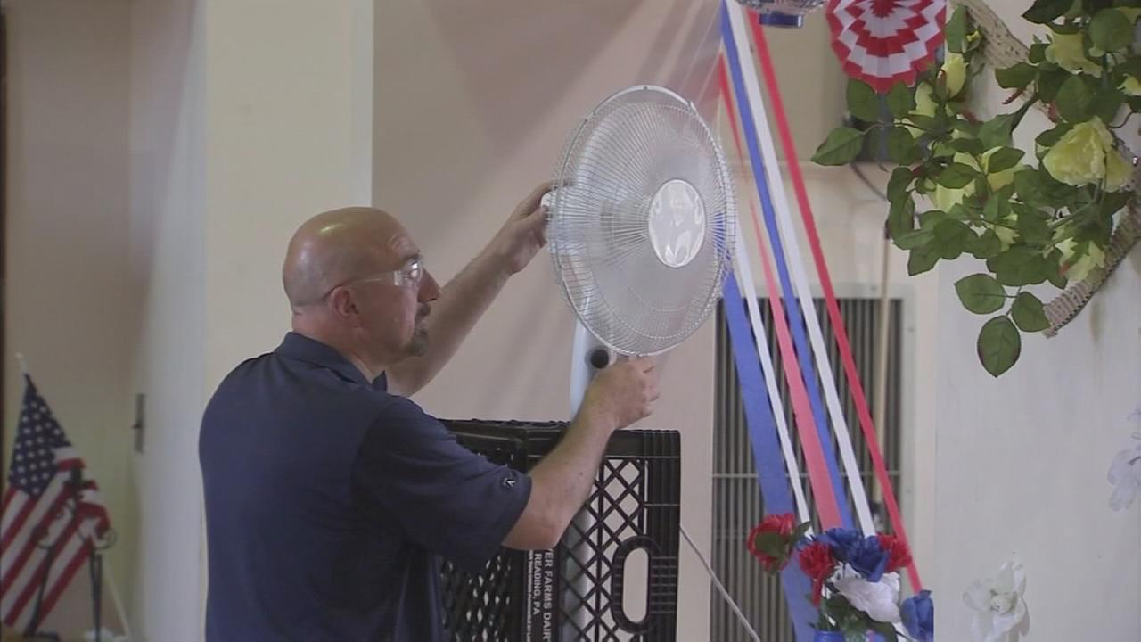 Workers, seniors deal with extreme heat in Trenton