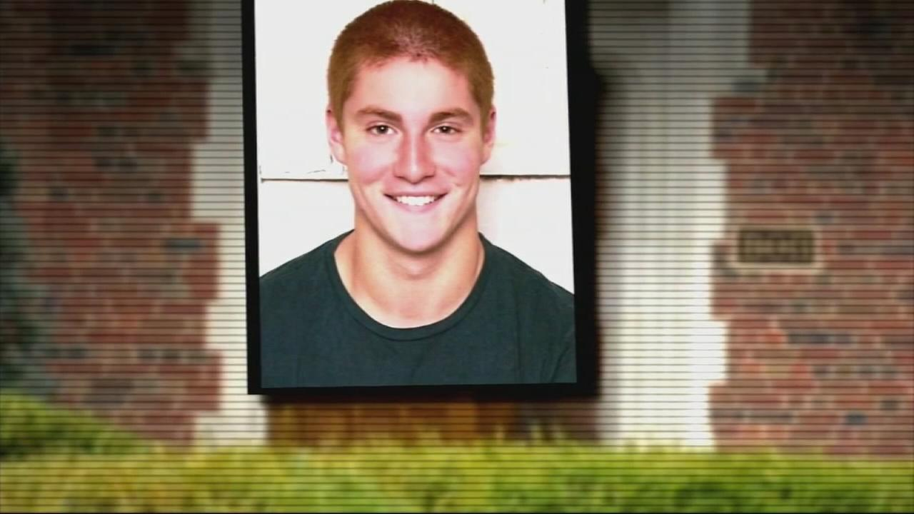 Video shows Penn State frat pledge in agony after fall