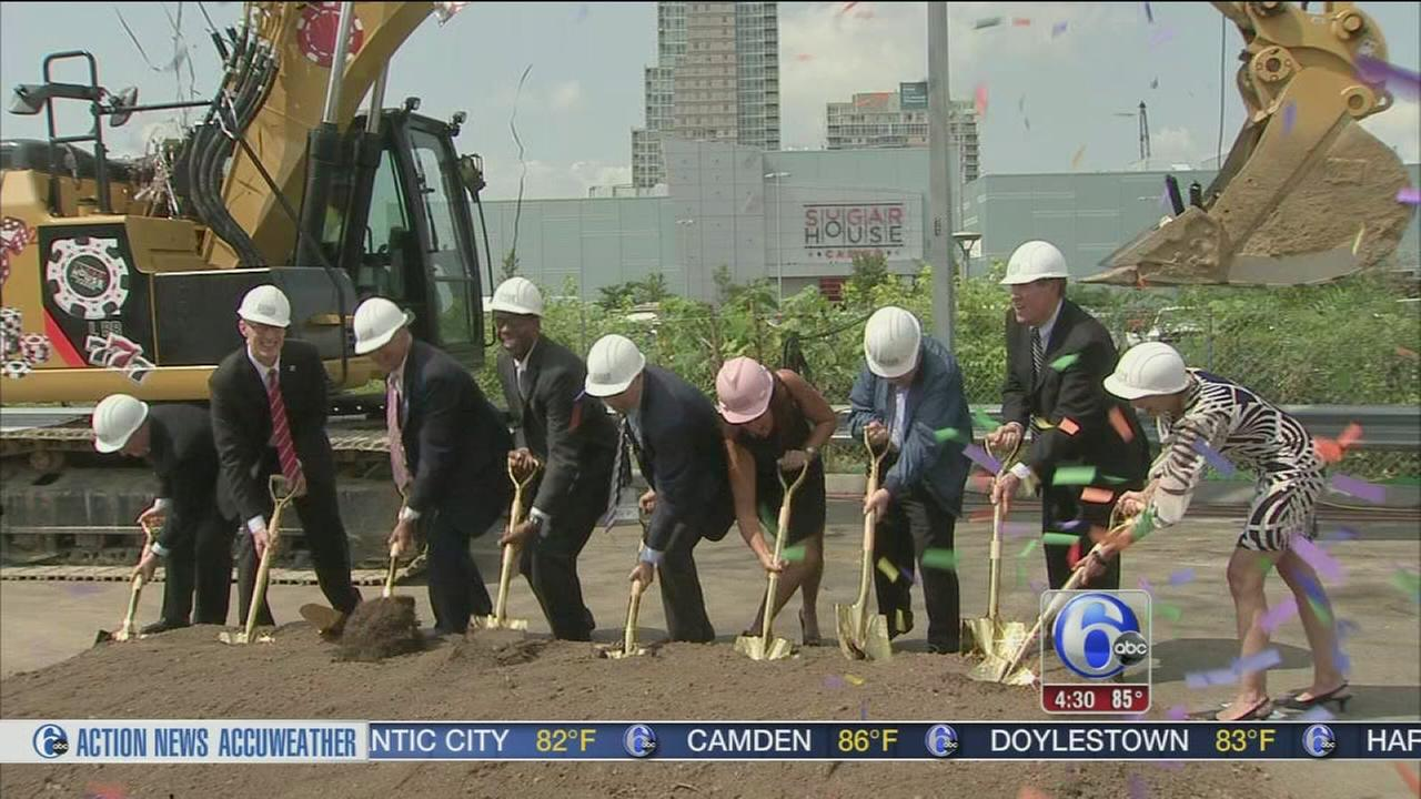VIDEO: SugarHouse breaks ground on massive expansion