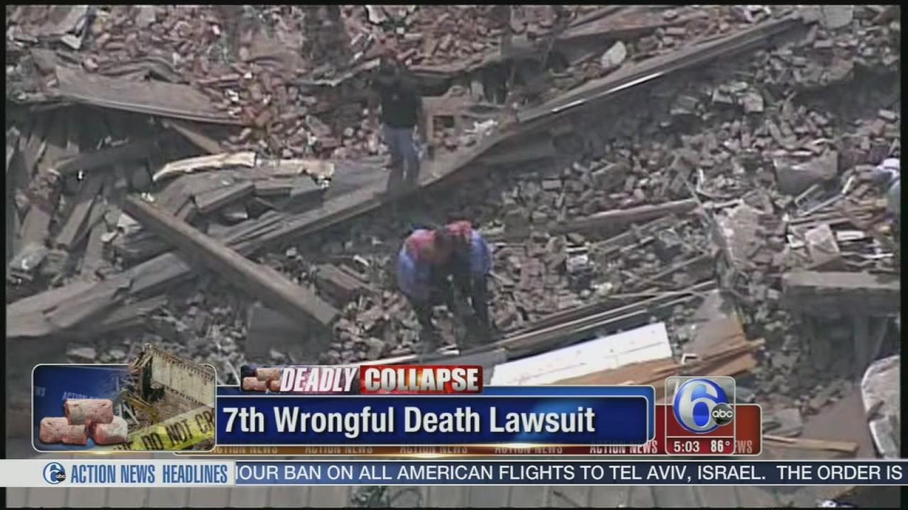 VIDEO: 7th death blamed on 2013 Philly building collapse