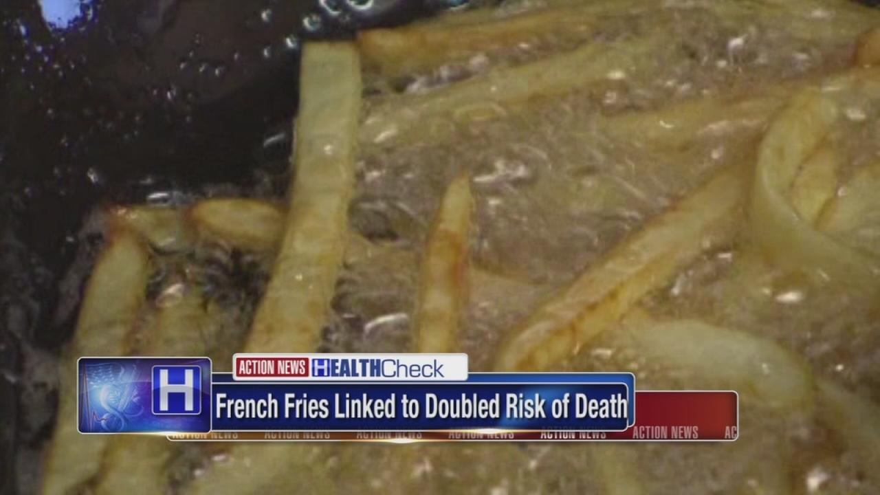 French fries linked to double risk of death