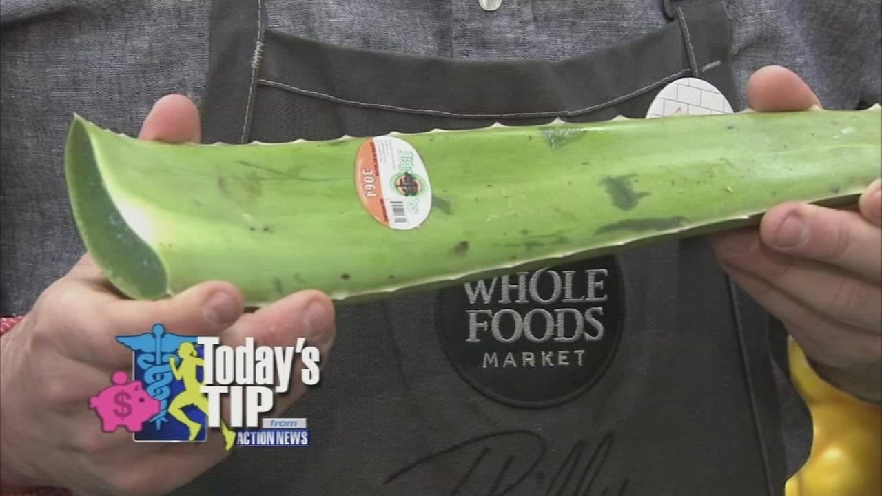 Todays Produce Tip: Aloe