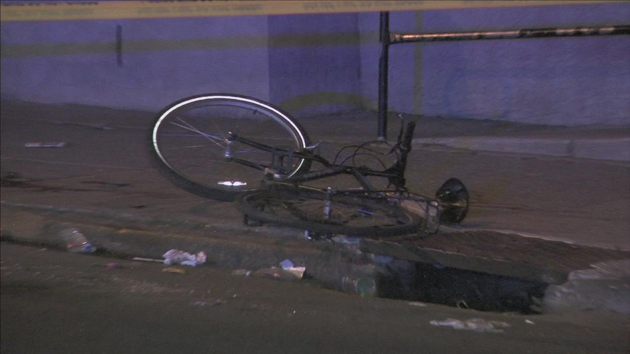 Bicyclist shot in North Philly