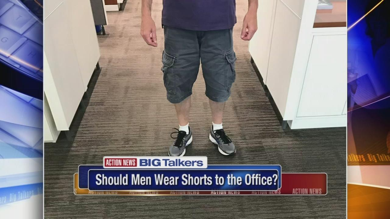 Should men be allowed to wear shorts to the office?